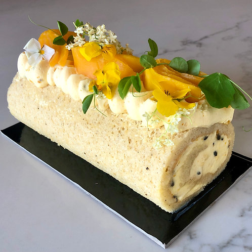 Passionfruit & Mango Swiss Roll (pick up only)