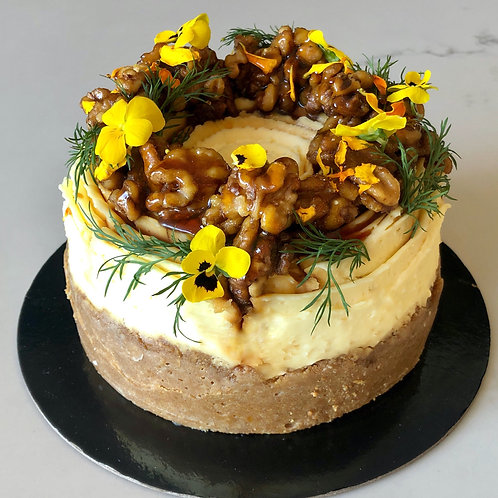 Baked New York Cheesecake (whole - pick up only)