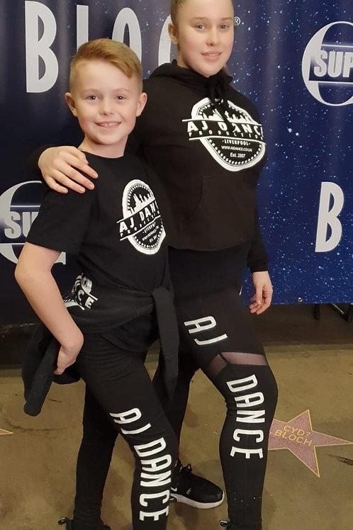 AJ Dance Unisex Kids Leggings