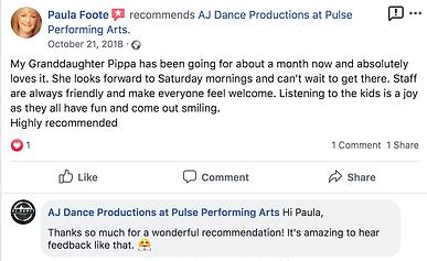 AJ Dance Review 3