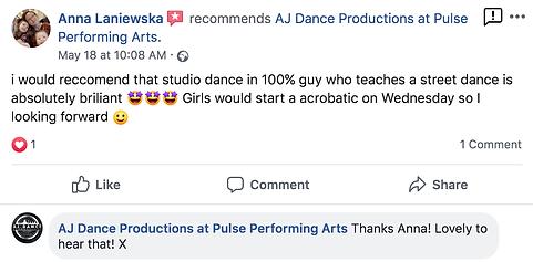 AJ Dance Review 4