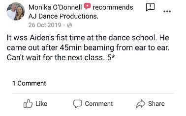 AJ Dance Review 6