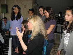 Jody Graves in Ramallah master class