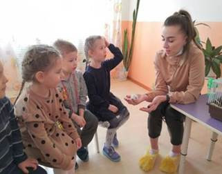 В центре развития ребенка «Лучик» продолжается реализация плана производственных практик...