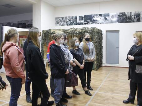 03.02.21г. 78-летняя годовщина освобождения Ленинградского района от немецко-фашистских захватчиков.