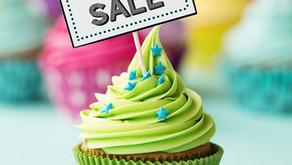 Yummy cake sale