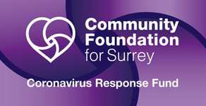 A big thank you to the Community Foundation for Surrey