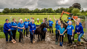 We've broken ground for our new Riding Centre