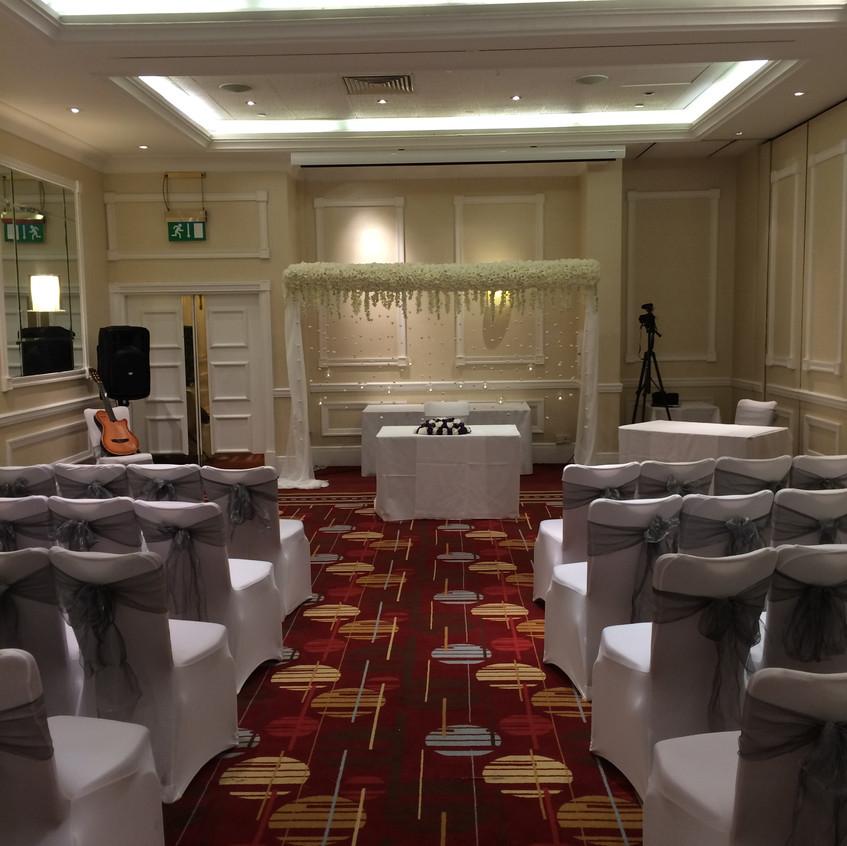 Wedding ceremony - Marriott Hotel