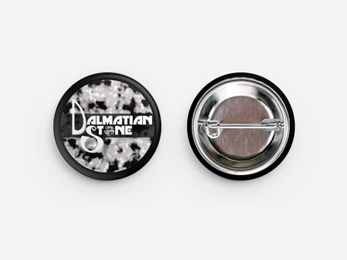 """Dalmatian Stone 1 1/4"""" Small Button"""