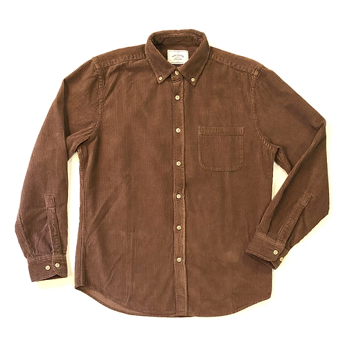 Camisa Lobo Corduroy Brown