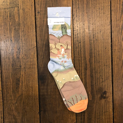Sky Bathing socks