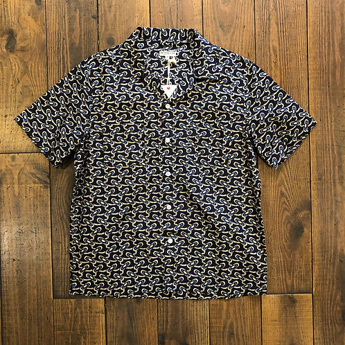 Comma Camp Shirt Navy