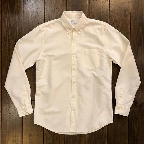 Organic  oxford ivory shirt