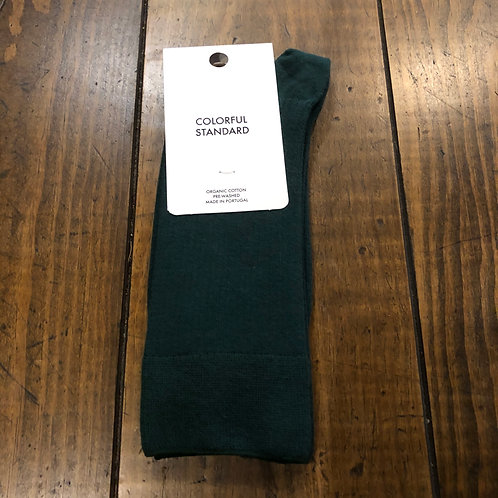 Organic cotton green  socks
