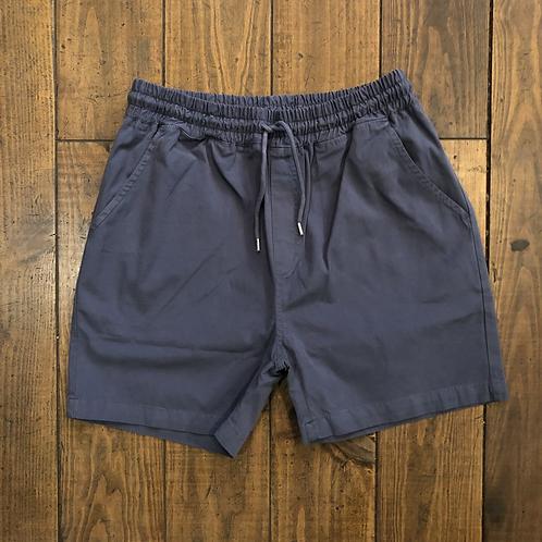 Organic Cotton Shorts Petrol Blue