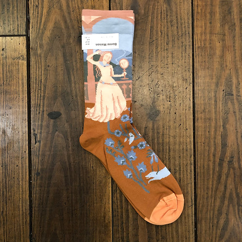 Sky Princess Socks