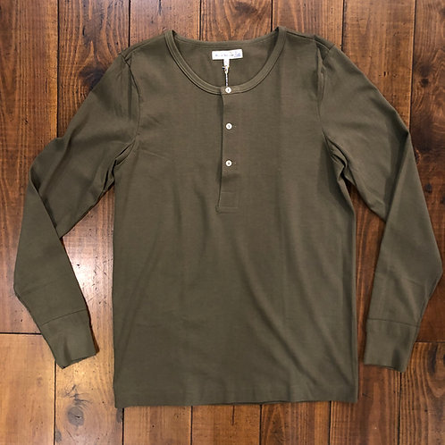 206´s Army Green Henley