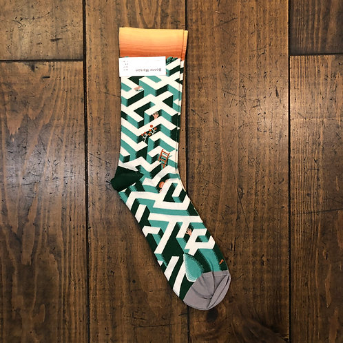 Ming Maze socks