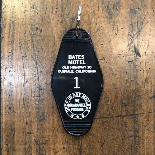 Bates Motel keytag