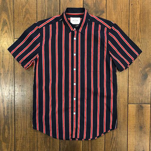 Monaco Red striped Shirt
