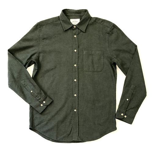 Camisa Teca Flannel Moss Green