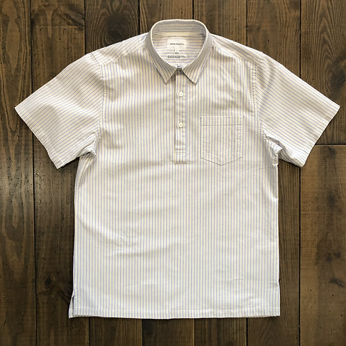 Pop-Over Oxford Cloud stripes Shirt