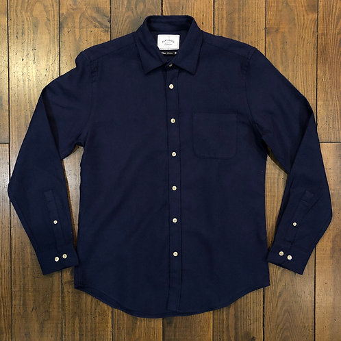 Teca Navy Flannel Shirt