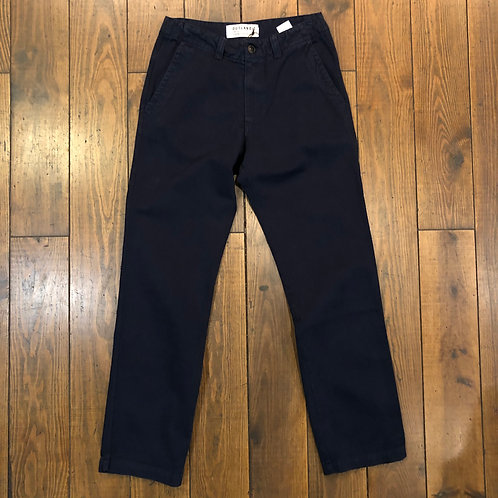 Dock Twill navy trousers