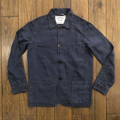 Labura Linen Navy Jacket