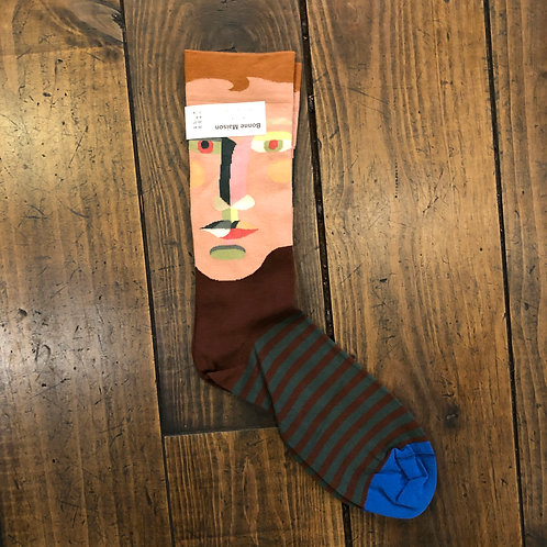 Chestnut face Socks