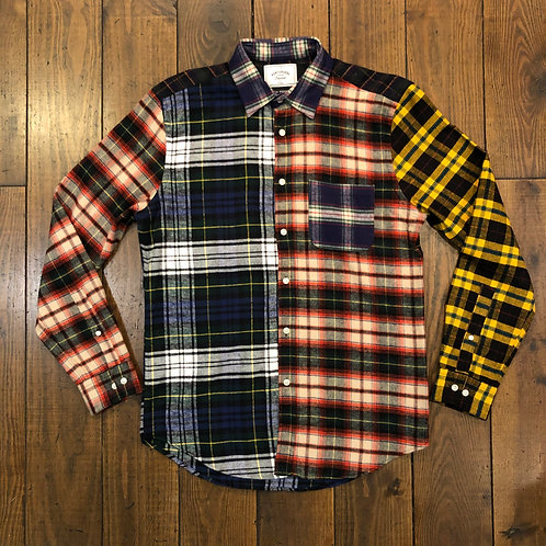 Patch flannel Shirt