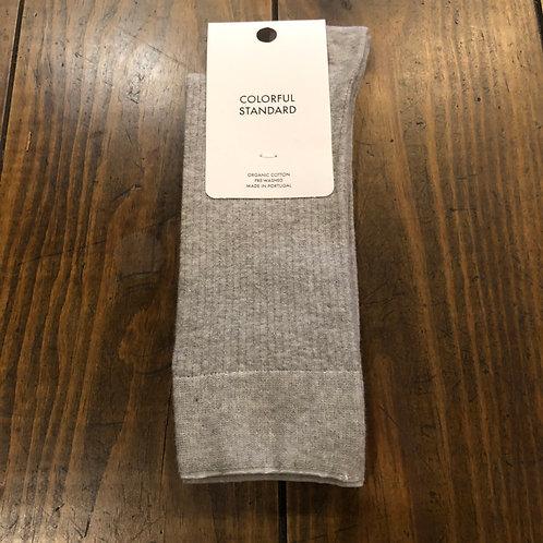 Organic cotton grey socks