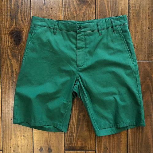 Aros light twill green shorts