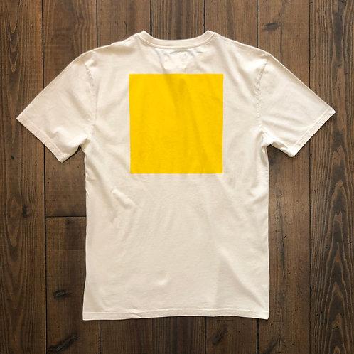 Dantas yellow square  t-shirt