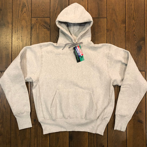 Camber Cross knit grey hoodie