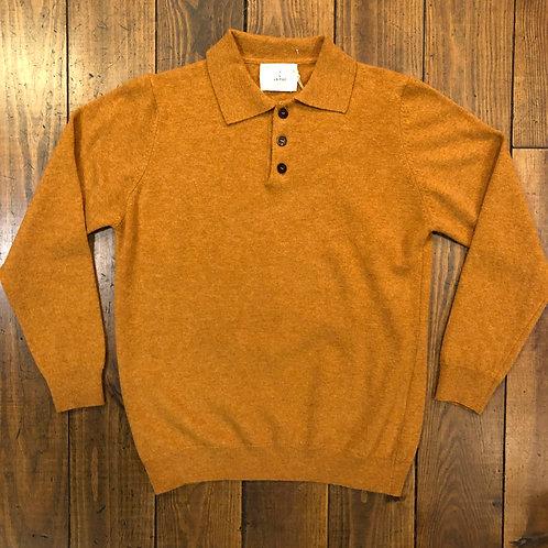 Eça Honey  knit polo shirt