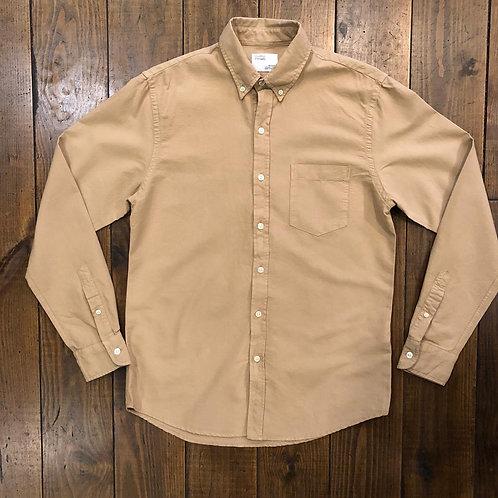 Organic  oxford khaki shirt