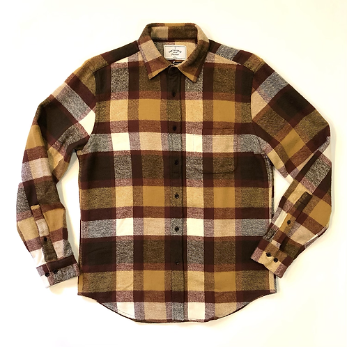 Camisa Flannel Terracota Check