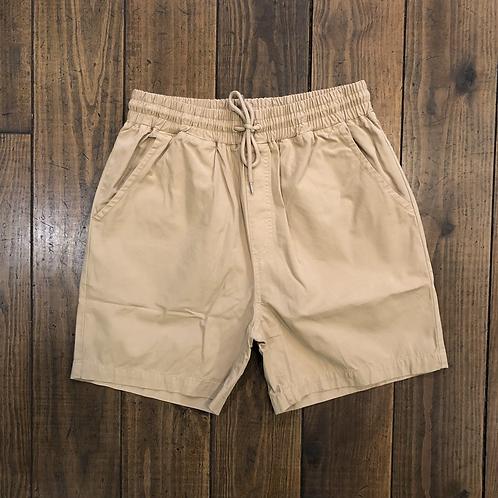 Organic Cotton Shorts Desert Khaki