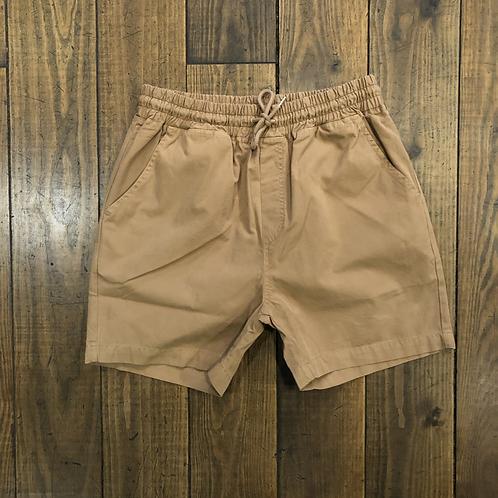 Organic Cotton Shorts Sahara Camel