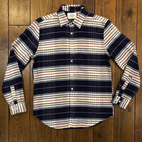Bleeckers Striped flannel shirt