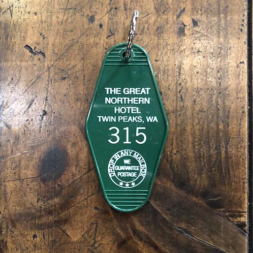 Twin Peaks Keytag
