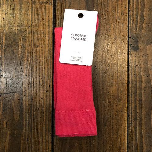 Organic cotton raspberry pink socks