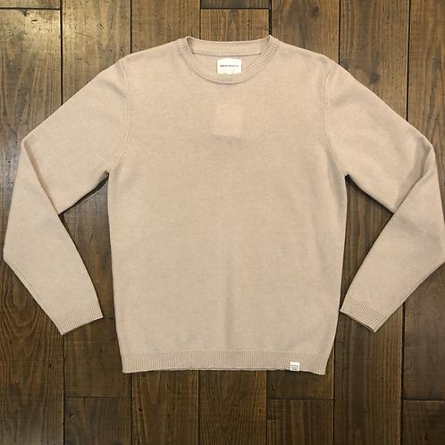 Sigfred Lambswool Beige Sweater