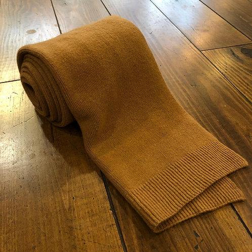 Merino wool camel scarf