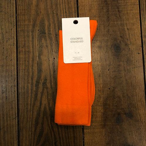 Organic cotton sunny orange socks