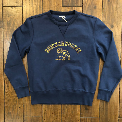 Varsity Gym Crew Fleece Navy