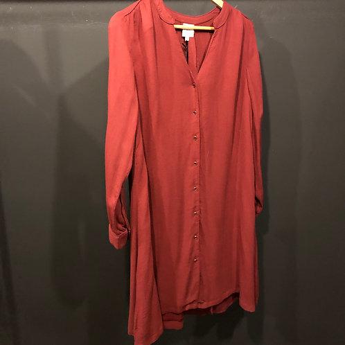 Jolie Jolie buttoned dress