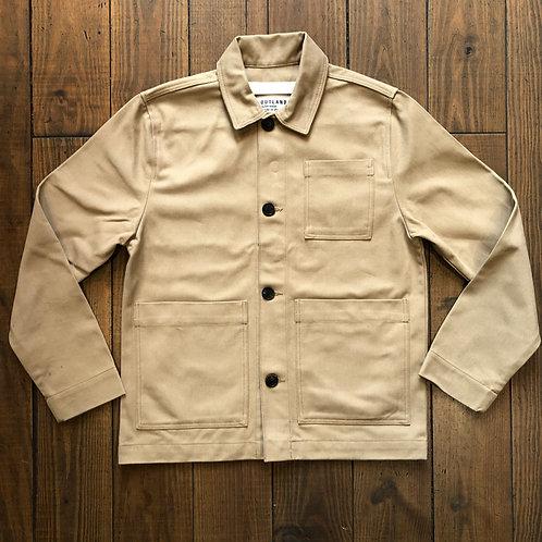 Dubliner beige cotton jacket